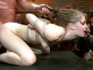 BDSM, Blonde, Bondage, Emo, Extreme, From Behind, Hardcore, Humiliation, Princess Donna, Public,