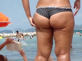 Amateur, Ass, Beach, Homemade, Outdoor, Public, Reality, Voyeur,