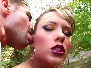 Anal Sex, Blonde, Blowjob, Blue Angel, Boobless, Cumshot, Cunnilingus, Facial, Gaping Hole, Outdoor,