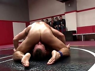 Anal Sex, Blowjob, Facesitting, Fucking, Hunk, Jock, Muscular, Oiled, Riding, Wrestling,