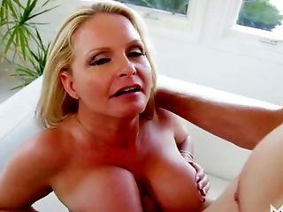 Beauty, Big Tits, Blonde, Blowjob, Cute, Horny, Mature, Maya Divine, Oral Sex, Slut,
