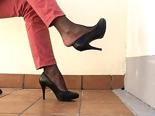 Foot Fetish, HD, High Heels, Homemade, Nylon, Shoe,