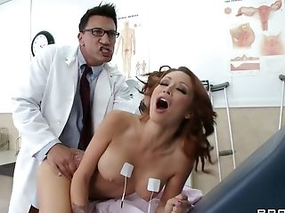 Big Tits, Dentist, Hardcore, HD, Monique Alexander, Slut,