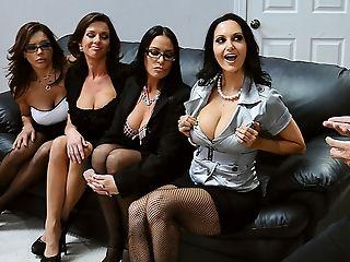 Ava Addams, Große Titten, Blowjob, Britische, Brünette, Francesca Le, Französisch, Spiel, Gruppensex, Hd,