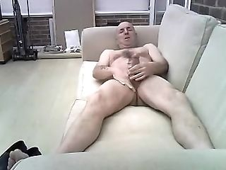 Amateur, Couch, Jerking,