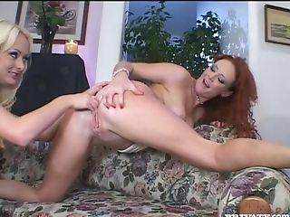 Audrey Hollander, Beauty, Blonde, Cute, Girlfriend, Horny, Lesbian, Redhead, Sex Toys, Slut,