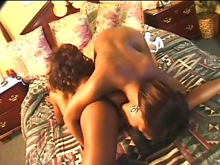Black, Clamp, Close Up, Ebony Lesbians, Fake Tits, Fucking, Hardcore, Lesbian, Licking, Natural Tits,