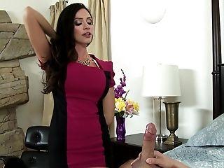 American, Ariella Ferrera, Bedroom, Big Ass, Big Tits, Blowjob, Brunette, Cougar, Dick, Hardcore,