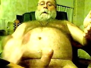 Bear, Daddies, Handjob, Masturbation, Old,