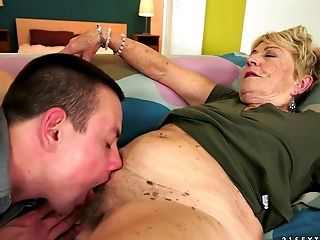 Doggystyle, Granny, Mature, Moaning,