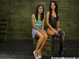 BDSM, Boobless, College, Dildo, Esmi Lee, Femdom, Fetish, Latina, Pornstar, Sex Toys,