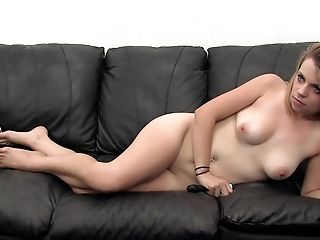 Amateur, Anal Sex, Anal Toying, Babe, Casting, Couch, Desk, From Behind, Hardcore, Masturbation,