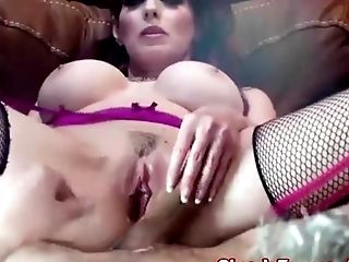 Big Tits, Blowjob, Fucking, High Heels, Kinky, Lingerie, MILF, Pantyhose, Shanda Fay, Stockings,