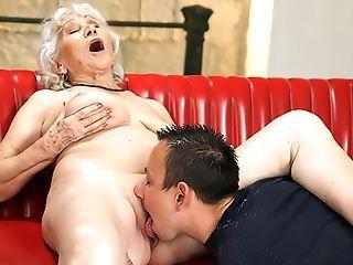 Big Tits, Blowjob, Cumshot, Curly, Fingering, Granny, Hardcore, HD, Horny, Mature,