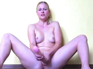 Blonde, Bold, Boots, Dildo, Masturbation, Pussy, Sex Toys, Squirting, Webcam, Whore,