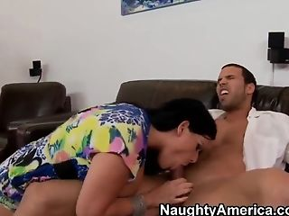 Anal Sex, Angelina Castro, Big Ass, Big Tits, Blowjob, Brunette, Creampie, Cuban, Dick, Hardcore,
