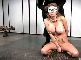 Babe, BDSM, Beauty, Big Tits, Blindfold, Blonde, Bound,