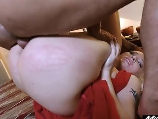 Clamp, Couple, Creampie, Cumshot, Cute, Gaping Hole, Hardcore, Hotel,