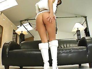Anal Sex, Brunette, Cum Swallowing, Cumshot, Double Penetration, Exotic, Gaping Hole, Horny, Maria Mia, Pornstar,