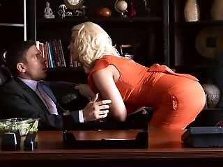 Aaliyah Love, Anikka Albrite, Beauty, Blonde, Brunette, Dress, Mature, Office, Romantic, Story,