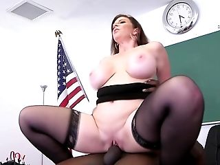 Big Ass, Big Black Cock, Big Tits, Black, Blowjob, Classroom, College, Cum In Mouth, Cumshot, Deepthroat,