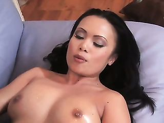 Cum, Cumshot, Handjob, HD, Horny, Jerking, Massage, Model, Mya Luanna, Nuru,