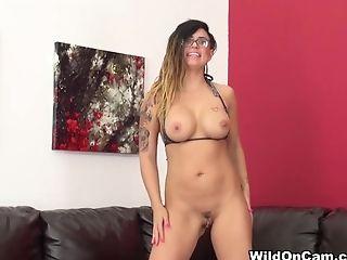 Amazing, Big Tits, Dildo, Eva Angelina, Exotic, Masturbation, Pornstar, Sex Toys, Solo,