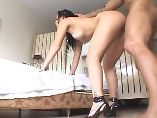 Ass, Ass Licking, Bedroom, Blowjob, Brunette, Couple, Cowgirl, Cute, Deepthroat, Doggystyle,