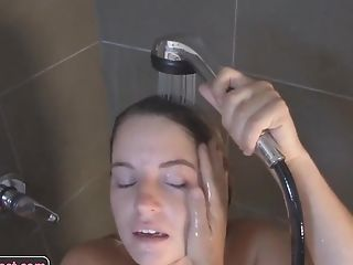 Amateur, Big Tits, Boobless, HD, Pussy, Shower, Solo,
