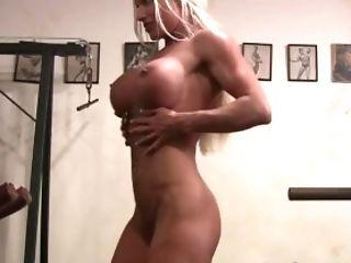 Ashley Chambers, Big Tits, Exhibitionist, Fake Tits, Fetish, Gym, Huge Tits, Jerking, Masturbation, Mature,