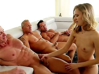 Amateur, American, Babe, Blonde, Blowjob, Bold, Cute, First Timer, From Behind, Gangbang,