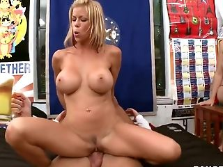 Alexis Fawx, Big Tits, Blonde, Blowjob, College, HD, Jamie Valentine, Pornstar, Rachel Starr, Threesome,