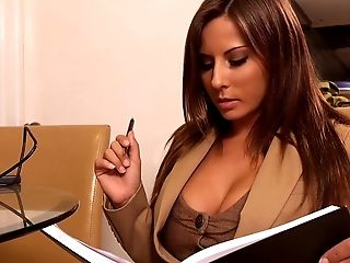 Babe, Blowjob, Boss, Brunette, Clothed Sex, From Behind, Hardcore, Horny, Madison Ivy, MILF,