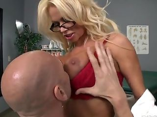 Big Ass, Big Cock, Big Tits, Blonde, Blowjob, Bold, Condom, Doctor, HD, MILF,