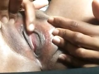 Black, Bold, Boobless, Clit, Ebony Lesbians, Lesbian, Moaning, Pussy, Rubbing, Squirting,