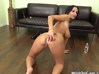 Ava Addams, Babe, Big Ass, Big Tits, Brunette, Dildo, Horny, Masturbation, MILF, Pornstar,