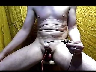 Amateur, BDSM, Cum Tributes, Dick, Electrified, Gaping Hole, Masturbation, Rough,