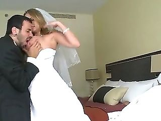 Alanah Rae, Ball Licking, Balls, Big Natural Tits, Big Nipples, Big Tits, Blowjob, Bride, Doggystyle, Drunk,