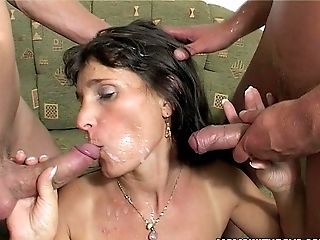 Amateur, Anal Sex, Boy, Double Penetration, Mature, Old,