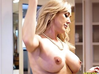 Ass, Big Tits, Blowjob, Brandi Love, Clamp, Cowgirl, Dick, Doggystyle, Fake Tits, FFM,