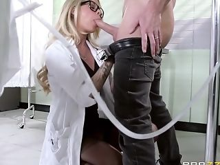Big Cock, Big Tits, Blonde, Condom, Dentist, Dick, Facial, HD, Natural Tits, POV,