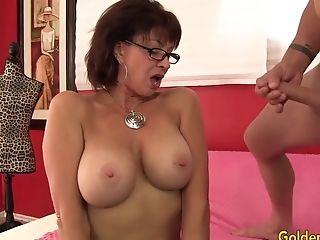 Blowjob, Dick, Hardcore, Mature, Old, Vanessa Videl,