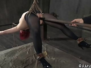 BDSM, Bondage, Cowgirl, Fetish, Redhead, Sex Toys, Submissive, Torture,
