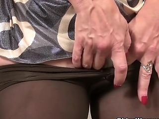 American, Granny, HD, Mature, MILF, Nylon, Old,