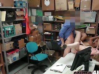 Big Tits, Brunette, Girlfriend, Hardcore, Punishment, Pussy, Shop, Teen,