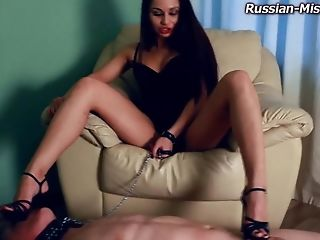 Ass, Ballbusting, BDSM, Femdom, Fetish, Flogs, High Heels, Russian, Spanking, Submissive,