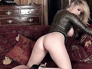 Ass, Big Tits, Blonde, Brook Little, Cute, Fingering, Jerking, Masturbation, Shaved Pussy, Shoe,