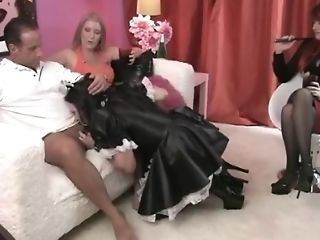 Bareback, Blowjob, Crossdressing, HD, Sissy, Submissive,