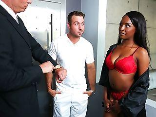 Amateur, Bedroom, Big Tits, Black, Blowjob, Cheating, Doggystyle, Gorgeous, Husband, Interracial,
