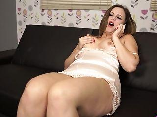 Amateur, Anna Joy, Ass, Big Tits, Boobless, Clit, Curvy, Dildo, Masturbation, MILF,
